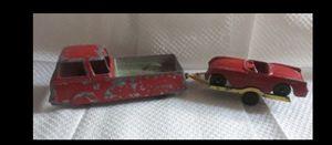 Vintage Tootsie Toy Red Van Wagon Trailer & Corvette for Sale in Elk Grove, CA