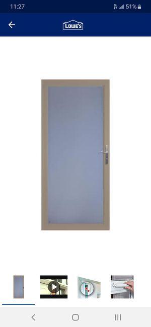 Storm doors**read info** for Sale in San Antonio, TX