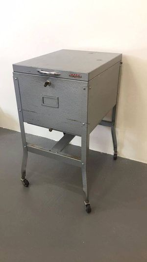 Shop File Cabinet Vintage Maso Steel Products Chicago for Sale in Colorado Springs, CO