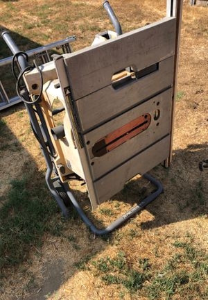 Rigid tablesaw Has blown motor and needs guide. Replace the parts or use it to upgrade a standard tablesaw for Sale in La Mesa, CA