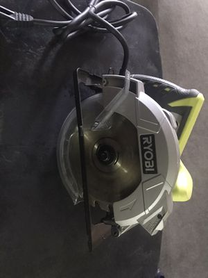 Circular saw with laser for Sale in Ontario, CA