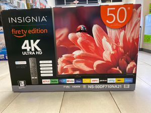 Brand New Insignia Amazon Fire tv Edition 4k Ultra HD with built-in Alexa Voice remote control! $349 cash or finance for $40 down! for Sale in Orlando, FL