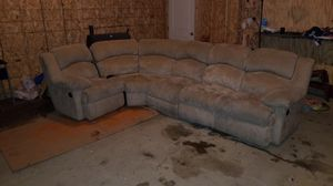 Double recliner couch for sale for Sale in Dickinson, ND