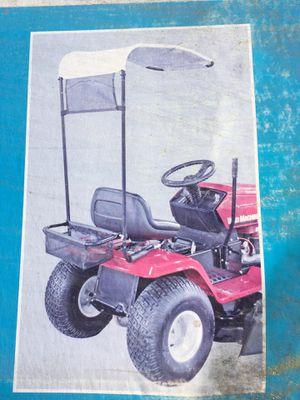 Small tractor lawnmower operator shade umbrella cover for Sale in Hemet, CA