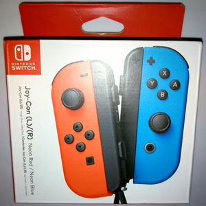 Nintendo Switch Joy-Con Controller (L/R) Neon Red / Neon Blue for Sale in San Diego, CA