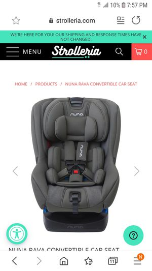$250 best deal nuna rava carseat BRAND NEW IN BOX , HAVE NOT OPENED IT . for Sale in Kirkland, WA