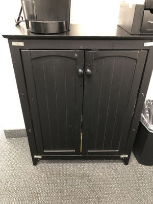 Black cabinet for Sale in Anaheim, CA