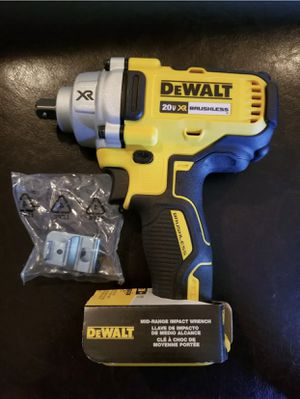 DEWALT 20-Volt MAX XR Lithium-Ion Brushless Cordless 1/2 in. Impact Wrench with Detent Pin Anvil. Tool- for Sale in Chicago, IL