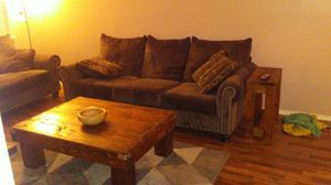 Couch, chair, coffee table for Sale in Tulsa, OK