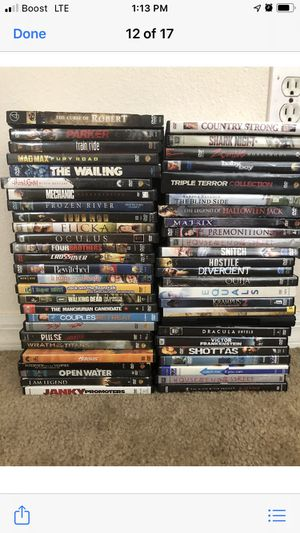 50 DVD's for Sale in Kissimmee, FL