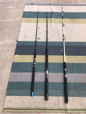 Fishing rods for Sale in Huntington Beach, CA