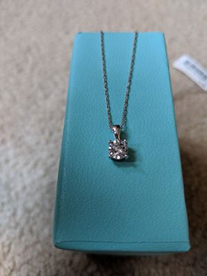 1/4 ct pendant necklace for Sale in San Francisco, CA