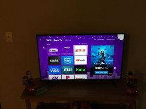 "TCL 43"" Class 4K Ultra HD (2160P) Roku Smart LED TV (43S421) for Sale in Philadelphia, PA"