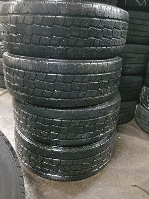 4 tires like new size 265 70 r17 price includes installation for Sale in Chicago, IL