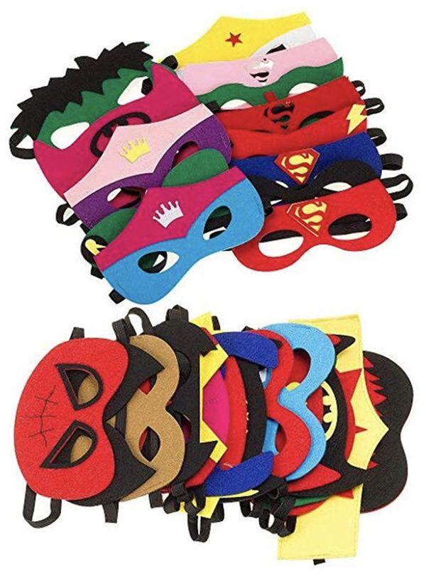 Super hero children party masks set of 30 new