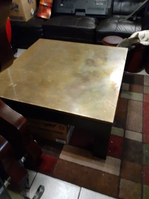 Gold and black coffee table for Sale in Phoenix, AZ