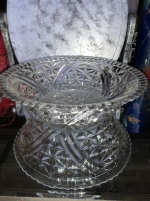 Glass Etched Candy Dish for Sale in Fenton, MO