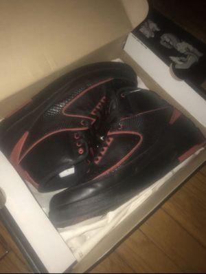 Air Jordan 2 Retro (Black/Red) Size 12 for Sale in New York, NY