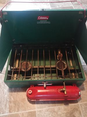 Coleman camp stove. All new parts for Sale in Klamath Falls, OR