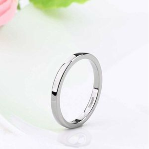 2mm size 4 Silver Plain Ring, Wedding Band, Promise Ring for His or Her for Sale in Rowland Heights, CA