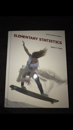 Elementary Statistics for Sale in El Monte, CA