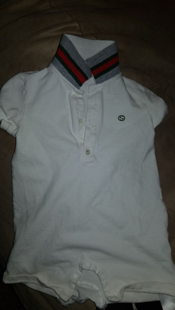 2345de312a1e Gucci boy romper for Sale in Highland