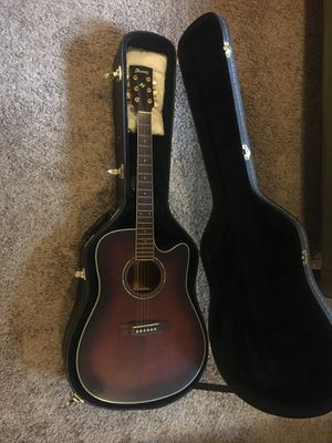 Ibanez Artwood aw120ece acoustic guitar with pickups for Sale in Portland, OR