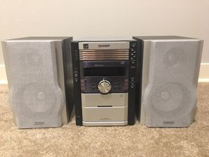 Sharp Stereo System for Sale in Chicago, IL