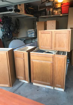 Oak cabinets that can help you add more storage or a new look to your kitchen can all be yours for $275 for Sale in Mesa, AZ