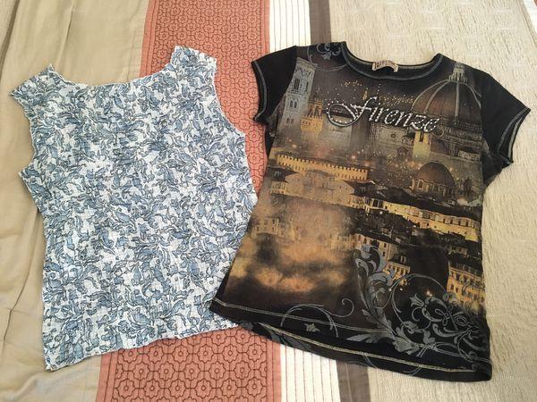 2 Women's Petite shirts