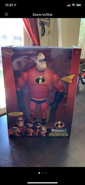 Disney Pixar Incredibles 2 Punch and Play Toy for Sale in Claremont, CA