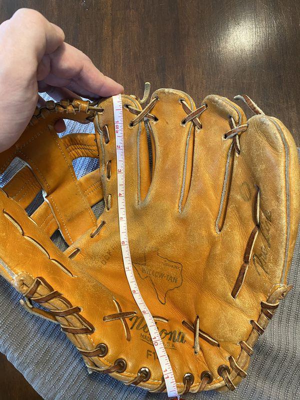 Nokona Pro Line F140 Willow-Tan Vintage Baseball Softball Glove