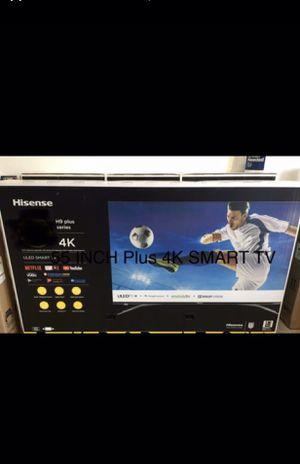55 INCH 📺 HISENSE PLUS 4K SMART TV 📺 for Sale in Chino, CA