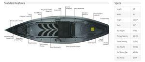 NuCanoe Frontier 12 Duck Boat for Sale in Arlington, WA