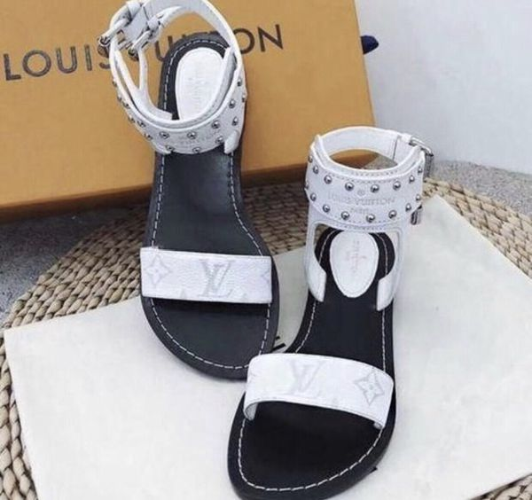 8c8441d02919 Lv sandals shoes women for Sale in Newark