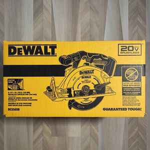 DEWALT 20-Volt MAX Brushless Cordless 6-1/2 in. Circular Saw. Tool-Only. for Sale in River Forest, IL
