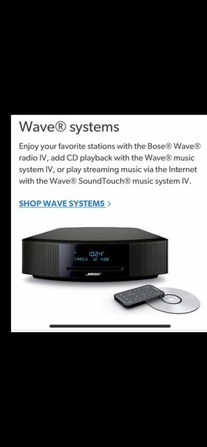 Bose wavy stereo for Sale in Obetz, OH