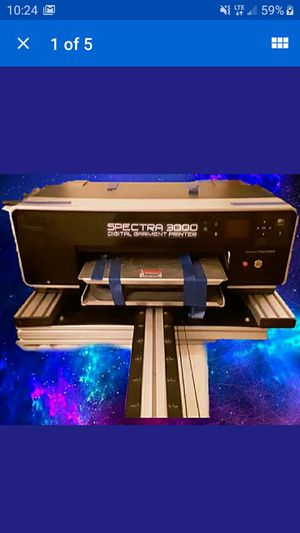 Spectra 3000 direct to garment printer for Sale in Boyertown, PA