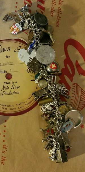 Vintage Sterling Charm Bracelet for Sale in Maple Valley, WA