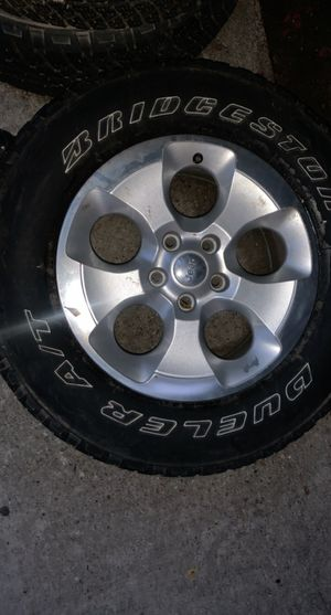 Jeep Wrangler Wheels/Tires for Sale in Houston, TX