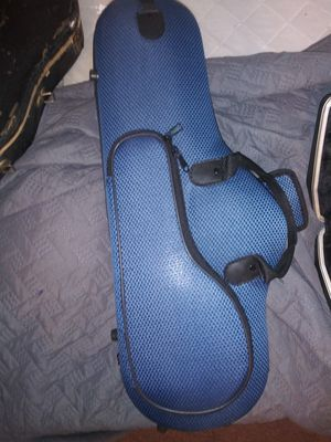 Alto sax case and 2 flute covers open box for Sale in Plainfield, NJ