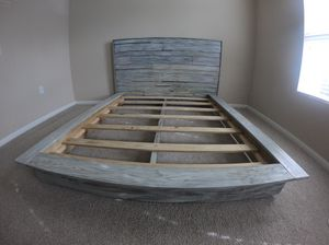 Queen Bed Frame with Mattress!!!! for Sale in Cantonment, FL