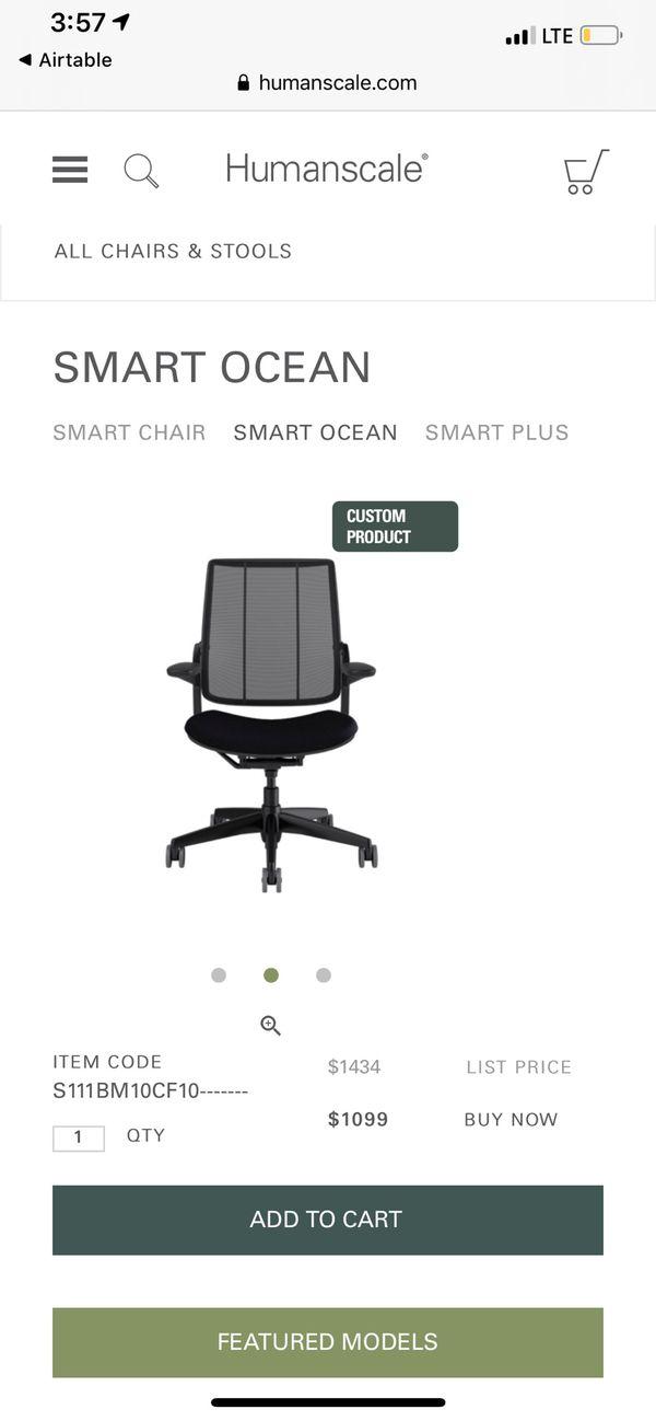 Humanscale ergonomic chairs