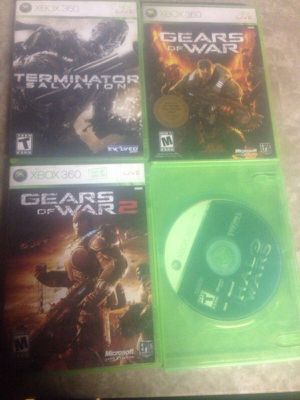 Used Xbox 360 games $10 each firm prices no delivery for Sale in Chicago, IL