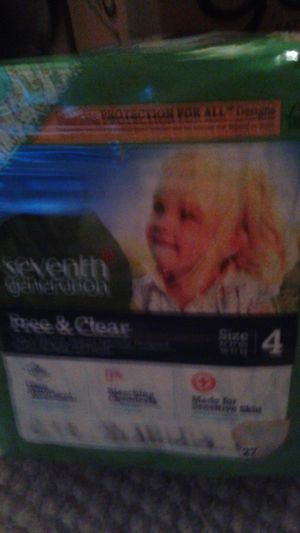 Seventh Generation Pampers for Sale in Bordentown, NJ