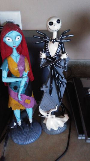 Jack@sally statues for Sale in Ailey, GA