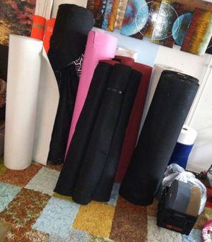 Asst Rolls of Fabric/Felts for Sale in Blackstone, MA