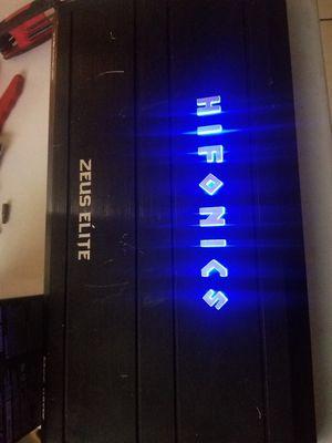 Amplifier Hifonics 3300 watts for Sale in Loma Linda, CA