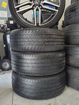 """HONDA ACCORD SET OF RIMS 19"""" WITH TIRES for Sale in Auburndale, FL"""