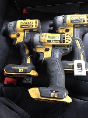 3 deWalt drill drivers 20v for Sale in Denver, CO
